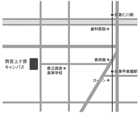 最寄駅からのアクセス